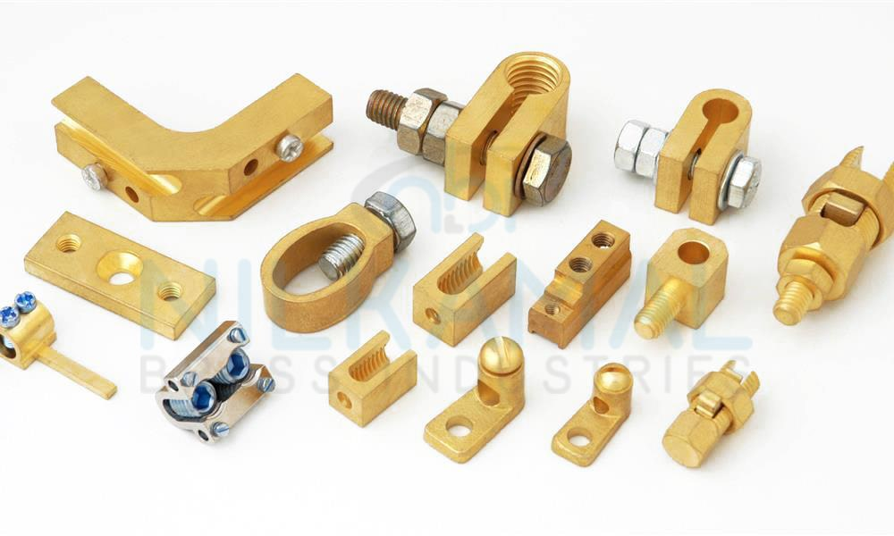 Brass Cable Clamps